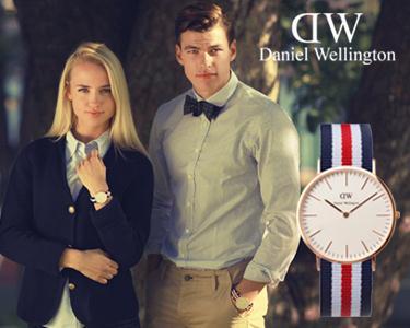 Daniel Wellington Colorido- Para Ela