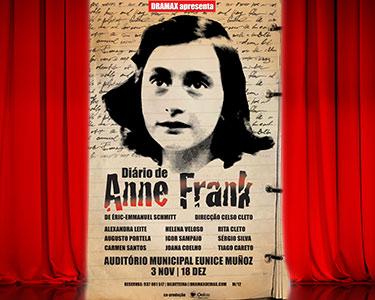 «O Diário de Anne Frank» no Palco do Auditório Eunice Muñoz