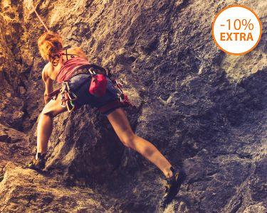 Escalada em Rocha Natural na Serra da Arrábida | 4 Horas | 1 ou 2 Pessoas