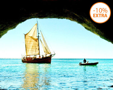 Terra à Vista! Passeio em Embarcação Pirata | Costa Algarvia - 2 Horas