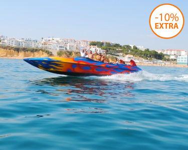 Speed Boat! Passeio a Bordo do Ocean Rocket - 30 Minutos | Costa Algarvia