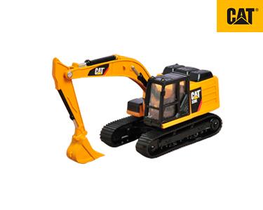 Camião Construção Metal 9 cm CAT® | Escavadora