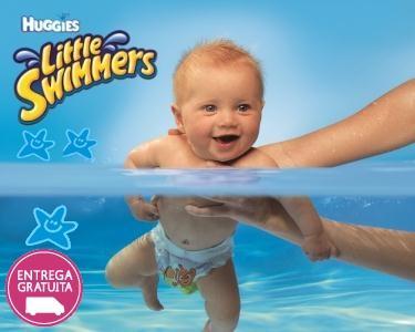 38 ou 40 Fraldas Little Swimmers