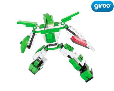 Robot Space Brontosaurus-Rithers Verde | 110 Peças