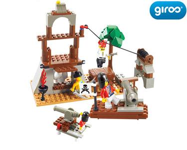 Pirate A Caverna do Tesouro | 142 Peças