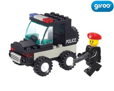 Police Mini Carro de Intervenção | 45 Peças