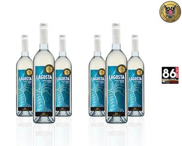 Vinho Lagosta Bordalesa Verde - Caixa 6 garrafas