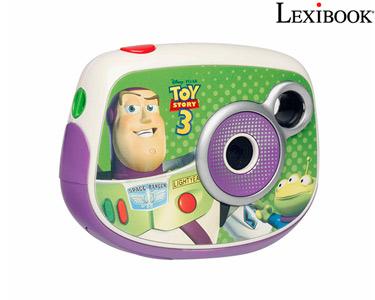 Máquina Fotográfica Lexibook® | Fotos & Vídeos das Férias! -> Escolha a sua opção -> Câmara Fotográfica - Toy Story