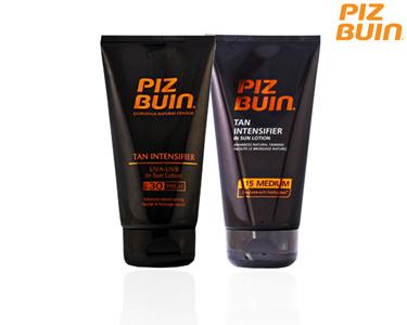 Piz Buin Tan Intensifier Loção Bronzeadora | Escolha a sua opção