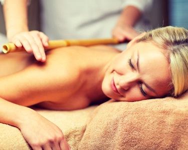 Já conhece a Bambuterapia? 1 Hora de Massagem Revitalizante   Linda-a-Velha