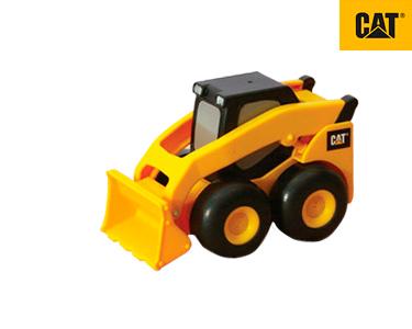 Máquina Construção Fricção 11 cm CAT® | Mini-Carregadora