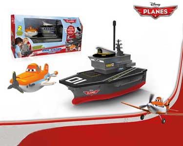 Porta Aviões com Walkie Talkies   Aviões da Disney
