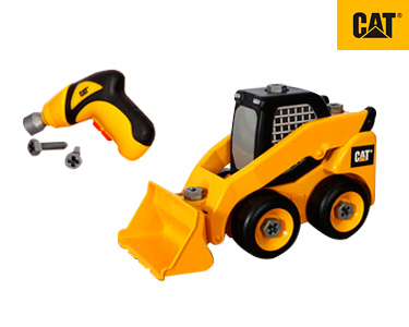 Máquina Construção 28 cm CAT® | Mini-Carregadora