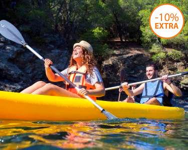 Passeio a Dois em Kayak | 3 Horas na Barragem de Montargil - Alentejo