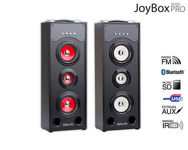 Coluna Joybox PRO   Bluetooth, Rádio, USB e Auxiliar!