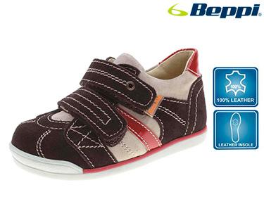 Sapato Beppi® Casual Infantil | Castanho e Bordô