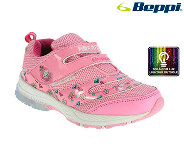 Sapato Beppi® Casual Infantil | Rosa