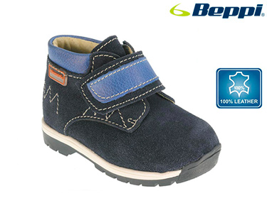 Bota Casual Beppi®  Infantil | Azul Marinho