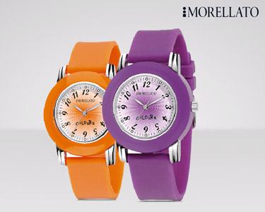 Relógios Morellato Colours | Laranja ou Roxo