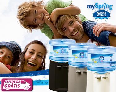 Máquina de Água mySpring+5 garrafões