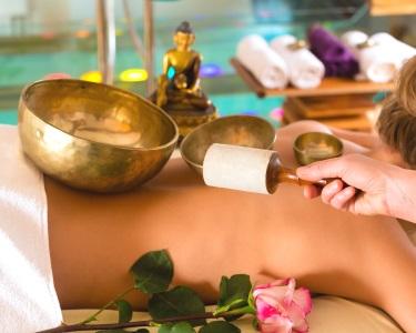 Terapia de Som com Taças Tibetanas + Ritual Chá | 50 Minutos | Saldanha