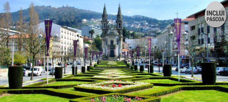 Páscoa em Guimarães | 2 Noites c/ Jantar no Hotel Comfort Inn Fafe
