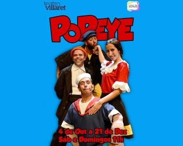 «Popeye - O Marinheiro»   Teatro Infantil no Villaret