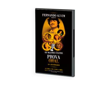 Livro + DVD + CD «Prova Oral» Antena3 | Os Maiores Êxitos!