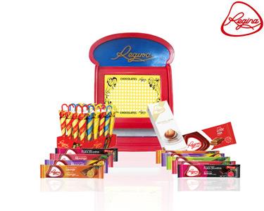 Caixa de Furos Regina®   Edição Limitada! 20 Furos, 20 Chocolates