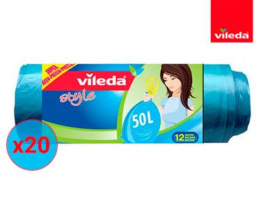 240 Sacos do Lixo Style 50L | Vileda®