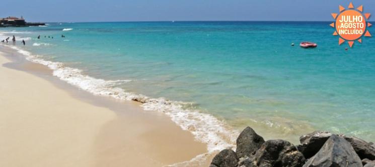 Férias em Cabo Verde! Ilha do Sal | Voos + 7 Noite em TI - Do Porto