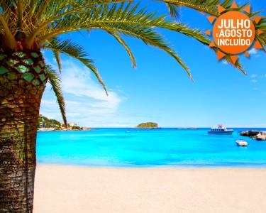 Férias em Ibiza | Voos + 7 Noites em Meia Pensão ou Tudo Incluído