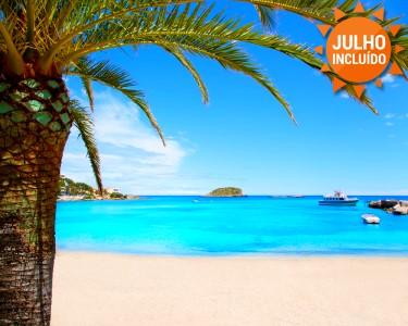 O Verão é em Ibiza | Voos + 7 Noites em M. Pensão ou T. Incluído