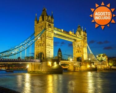 Visite Londres | 2 Noites 4* com Passeio de Barco no Tamisa