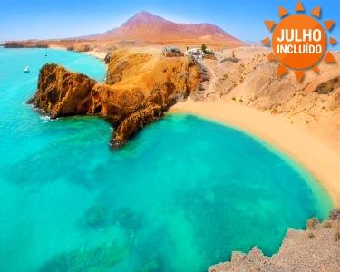 Lanzarote |  7 Nts em M.Pensão ou T. Incluído | 1ª Criança Grátis