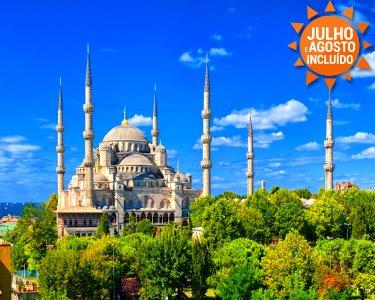 Turquia | Escapada  a Istambul | Voos + 3 Noites + Cruzeiro no Bósforo