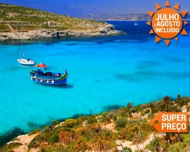 Últimos Lugares | Malta | Voos + 7 Noites no Mediterrâneo