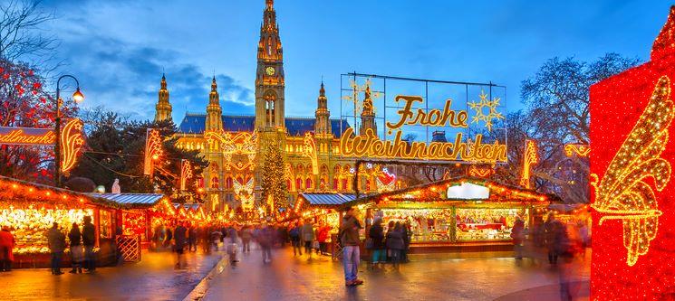 Mercado de Natal | Viena | Voos + 2 Noites