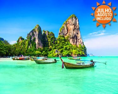 A Magia da Tailândia | Bangkok + Phuket | Voos + 7 Noites