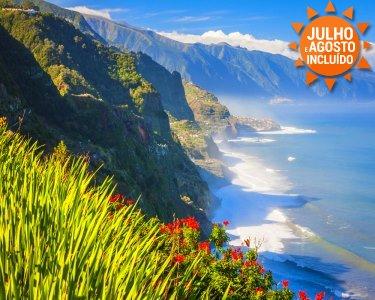 Especial Famílias | Madeira | Voos + 5 Noites | 1ª Criança Grátis