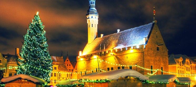 Mercado de Natal | Tallinn | Voos + 2 Noites