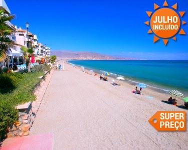 Last Seats! Almería | Voos + 7 Nts em Tudo Incluído | Roquetas del Mar