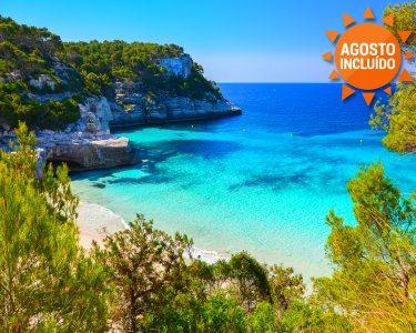Verão nas Ilhas Baleares | Menorca | Voos + 7 Noites