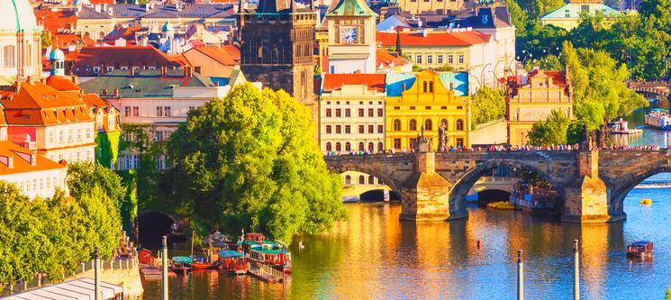 Praga Imperial | Voos + 4 Noites + Cruzeiro no Rio Moldava