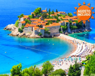 A Riviera do Adriático | Budva | Montenegro | Voos + 7 Noites