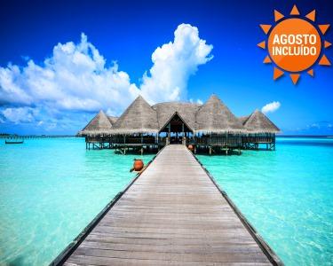 Férias de Sonho nas Maldivas | Voos + 7 Noites Irresístiveis