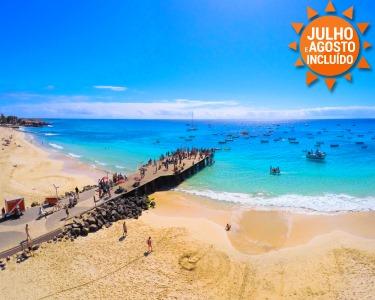 Férias em Cabo Verde! Ilha do Sal | Voos + 7 Noites em TI - Do Porto
