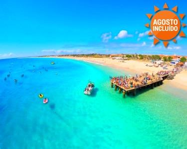 Verão em Cabo Verde | Ilha do Sal | Voos + 7 Noites em Tudo Incluído