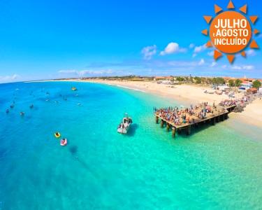 Férias em Cabo Verde! Ilha do Sal | Voos + 7 Noites em TI - De Lisboa