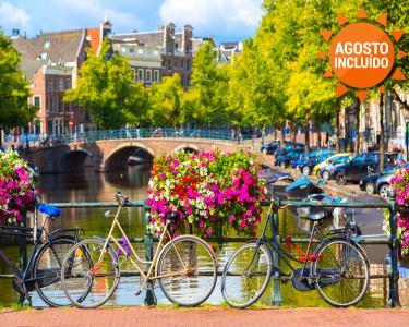 Conheça Amesterdão, a cidade dos Canais | Voos + 3 Noites